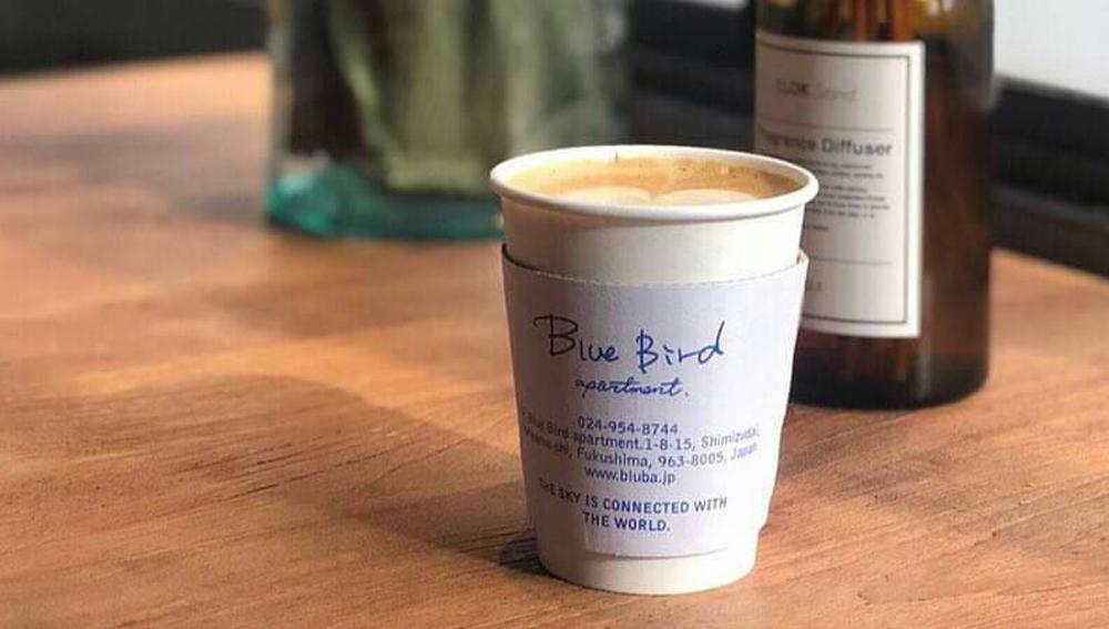 カフェ「Blue Bird apartment.」の開業サポートをさせていただきました。